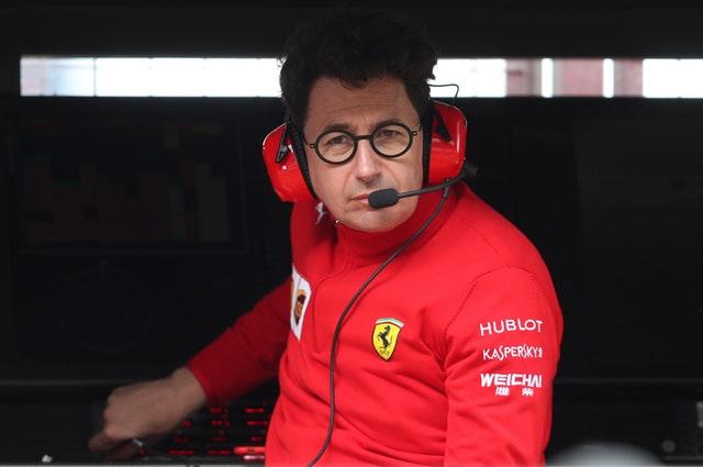 Ferrari Team Principle Mattia Binotto is under pressure to turn around their fortunes