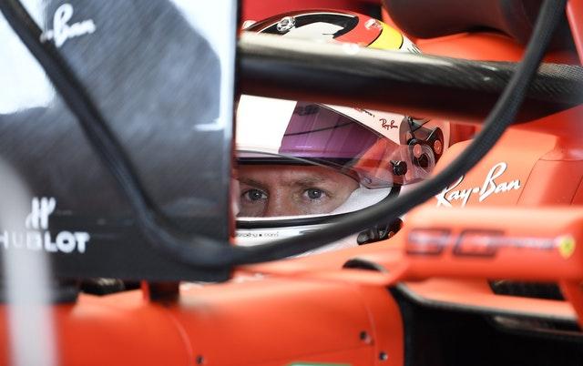 Sebastian Vettel will start from the back of the grid
