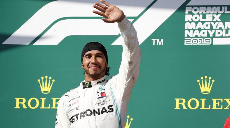 Hamilton in 2019 Hungarian Grand Prix