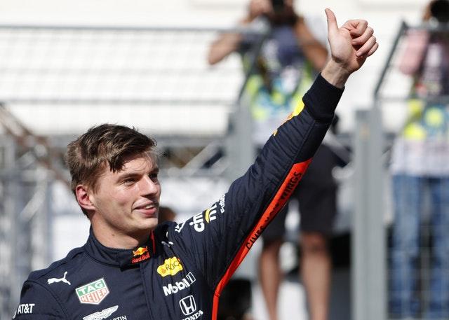 Red Bull driver Max Verstappen