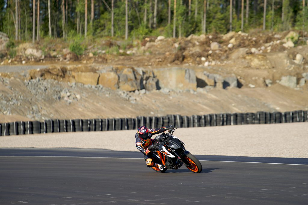 MotoGP test in Finland