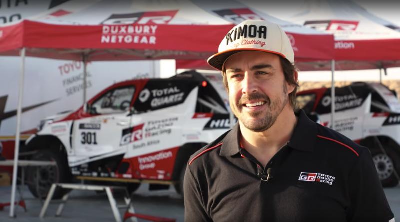 Alonso in Dakar Rally