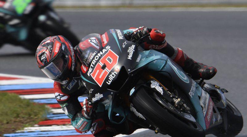 British MotoGP practice