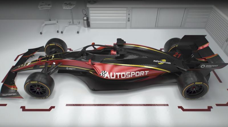 New formula 1 concept car