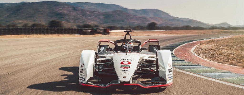 Porsche Formula E on track