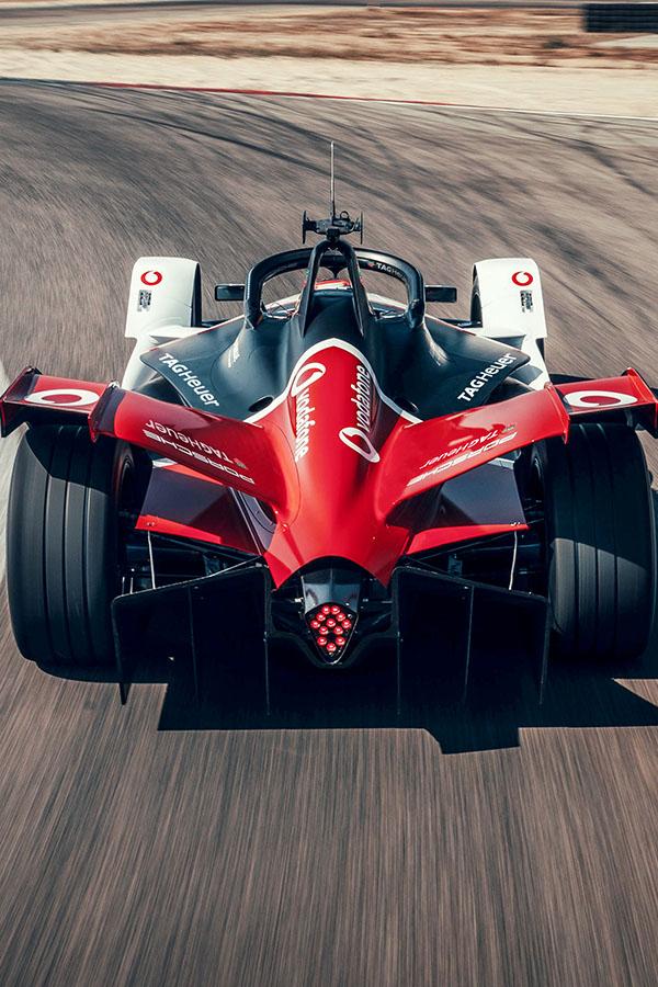 Porsche formula e vertical