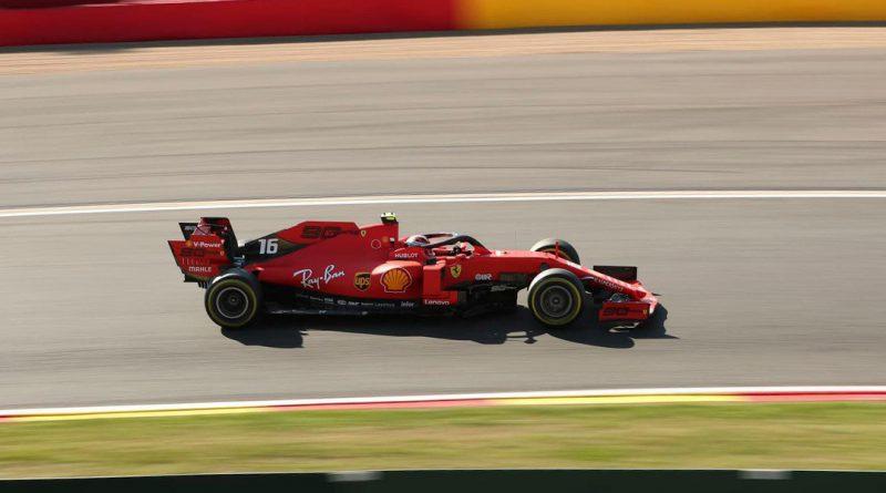 Belgian Grand Prix practice