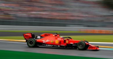 Leclerc at 2019 Italian GP Practice