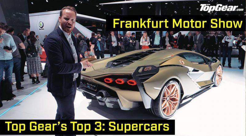 Supercars at Frankfurt Motor Show