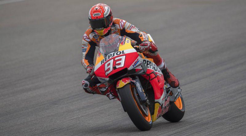 Marquez top Aragon GP