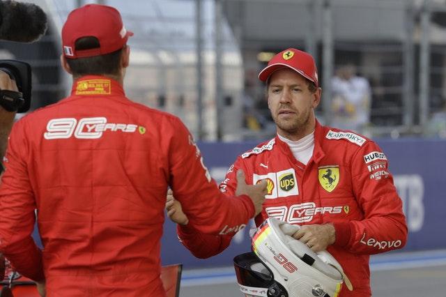 Ferrari have an issue with their team-mates
