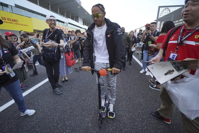 Japan F1 Auto Racing