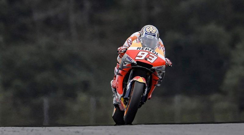 Marquez Flies in Dry Warm Up at Motegi