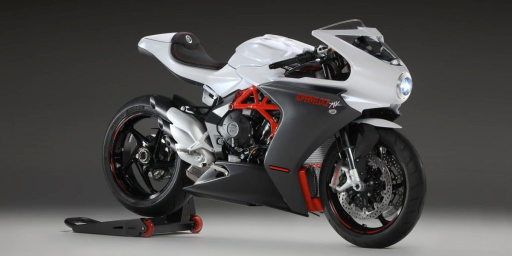 Stop everything you're doing and look at the new bikes from MV Agusta