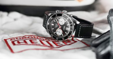 A romanticized look at watches in motorsport, where it all began