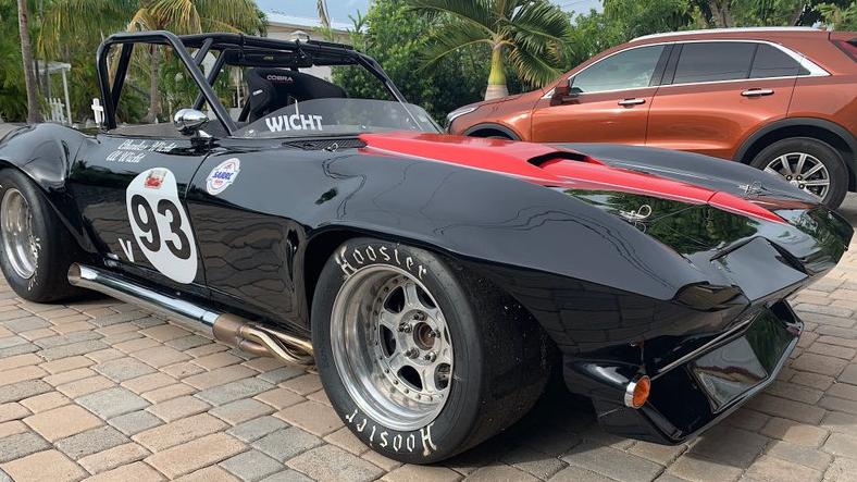 66 Corvette Race Car