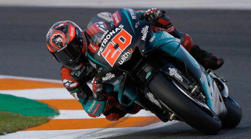 Valencia MotoGP qualifying