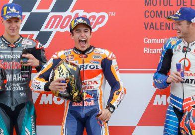 2019 Valencia GP: Marquez Hands Honda Triple Crown