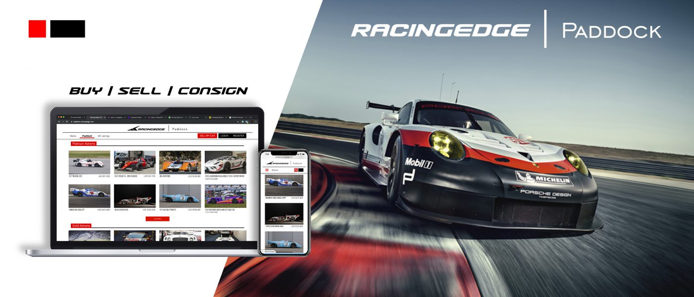A New Marketplace to Buy & Sell Race Cars, the Racing Edge Paddock
