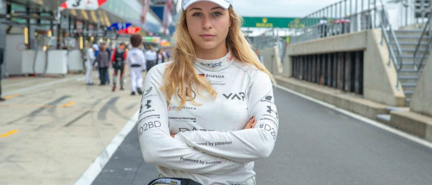 VIDEO: Sophia Floersch explains recovery from 170mph horror crash that almost killed her