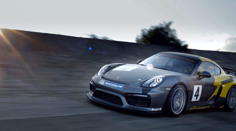 Porsche GT4 Clubsport Cayman