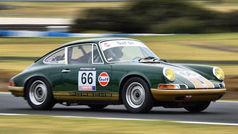 1969 Porsche 911 Historic Race car