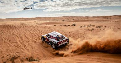 Carlos Sainz wins Dakar Rally for third time