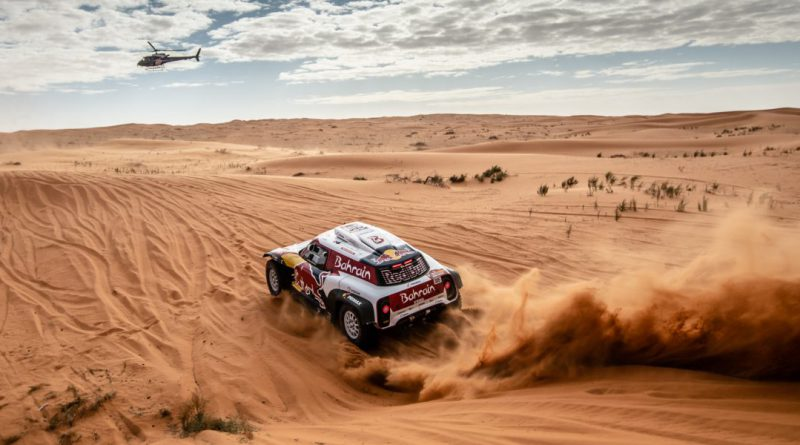 Carlos Sainz at the 2020 Dakar Rally