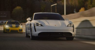 Porsche returns to Super Bowl with cool new Taycan commercial