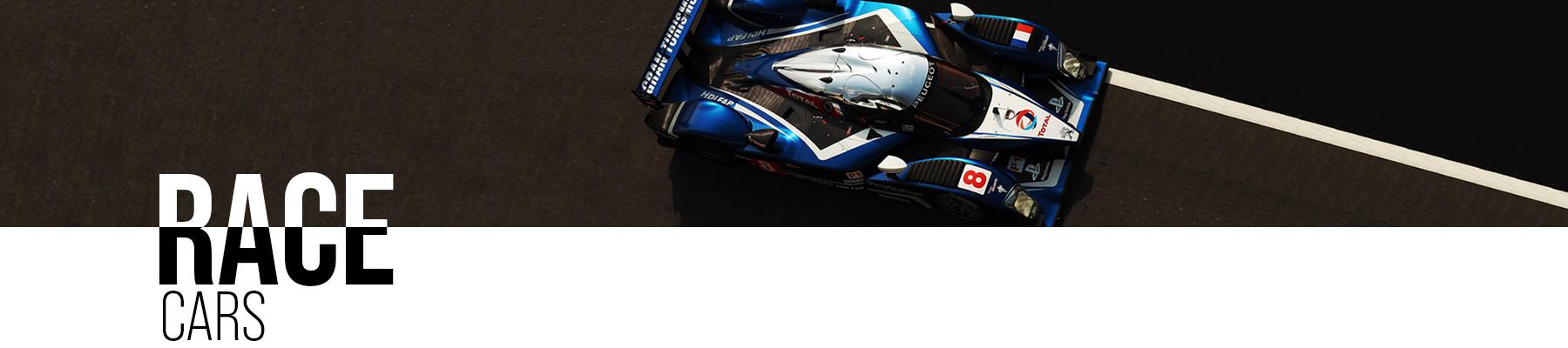 Race cars for sale header - Racing Edge