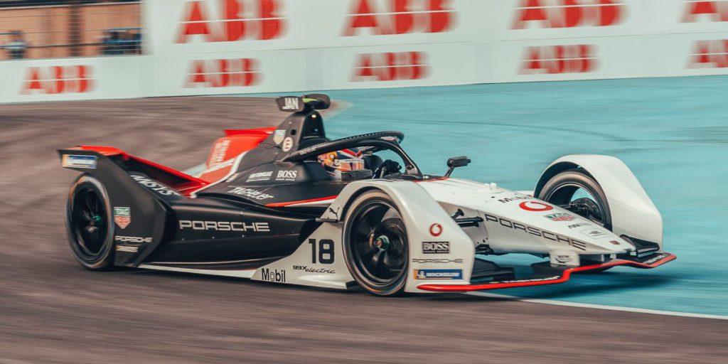 Tag Heuer Porsche Formula E makes its debut