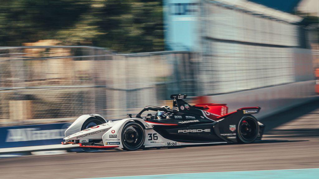 Tag Heuer Porsche Formula E team made its debut in Saudi Arabia