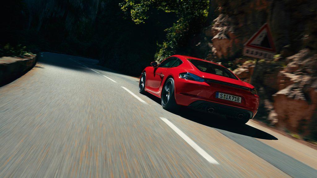 The new Porsche 718 Cayman GTS 4.0