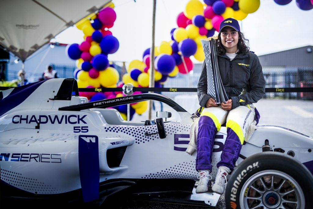 2019 W Series champion Jamie Chadwick