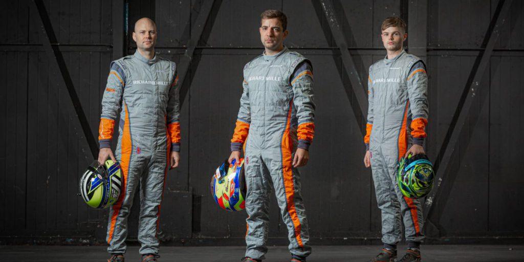 Rob Bell, Joe Osborne and Ollie Wilkinson will drive the McLaren 7720S GT3.