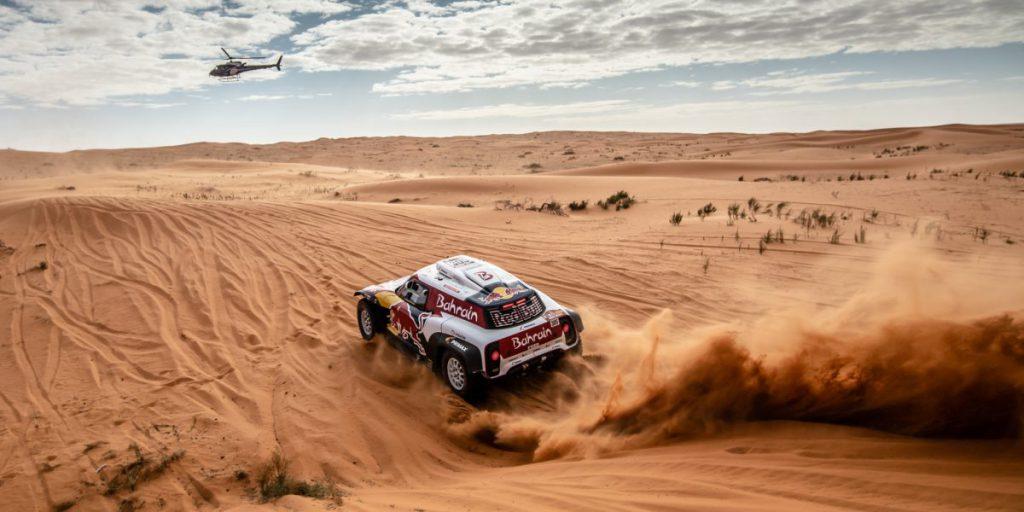 Carlos Sainz at the 2020 Dakar Rally