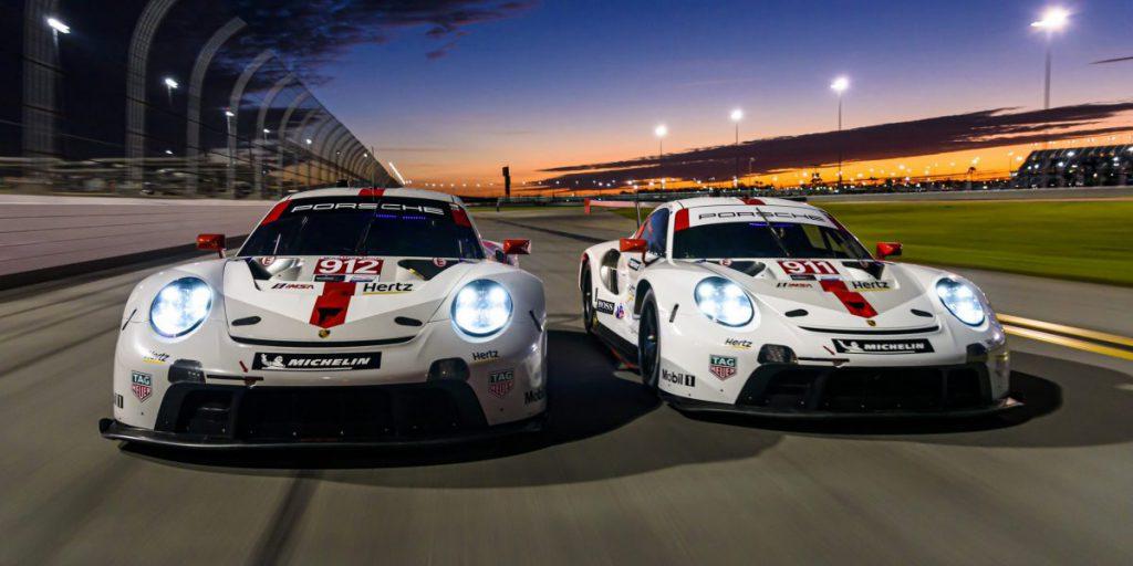 Porsche 911 RSR at Daytona