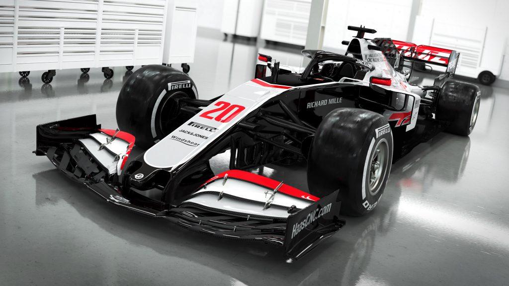 Haas 2020 F1 car
