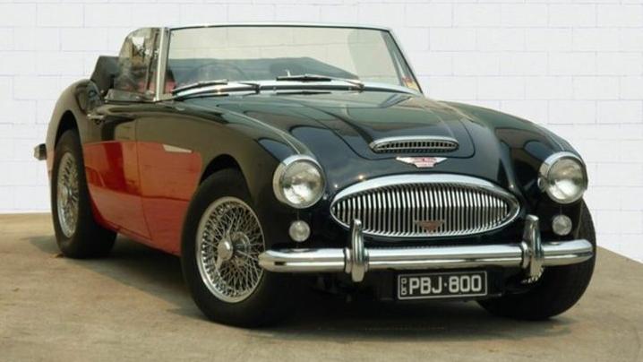 1965 Austin Healey Mk III BJ8
