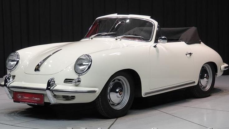 1962 Porsche 356 B T6 Cabriolet