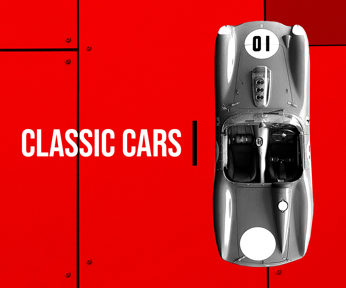 Racing Edge Classic cars for sale banner