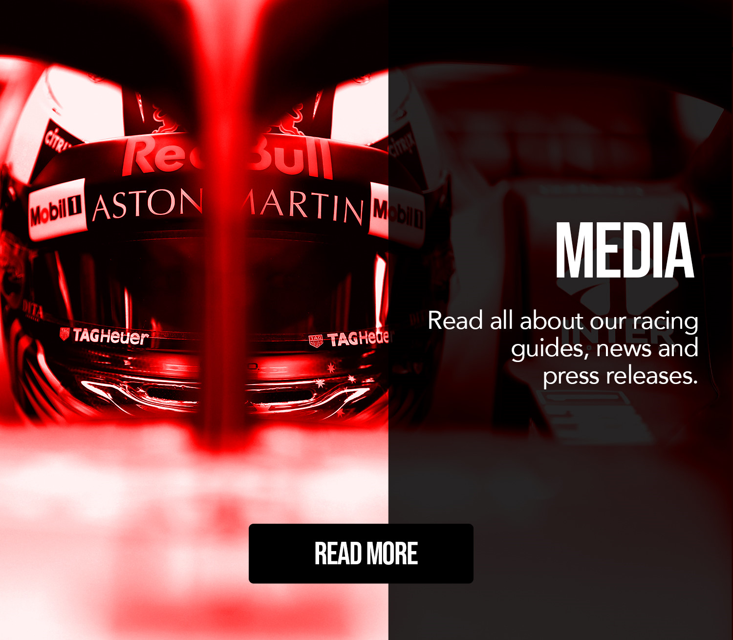 Racing Edge Media banner for mobile