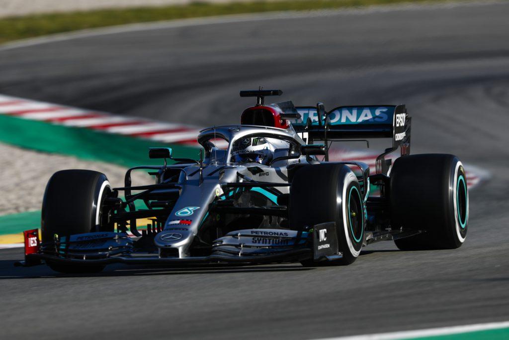 Mercedes F1 car