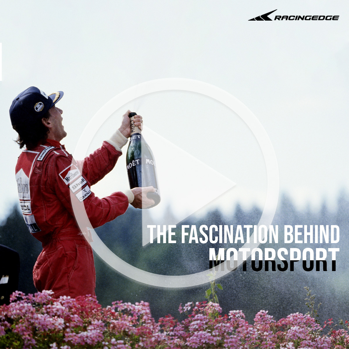 Racing Edge - The Fascination of Motor Racing - cover