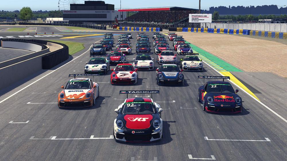 SimRacing Porsche