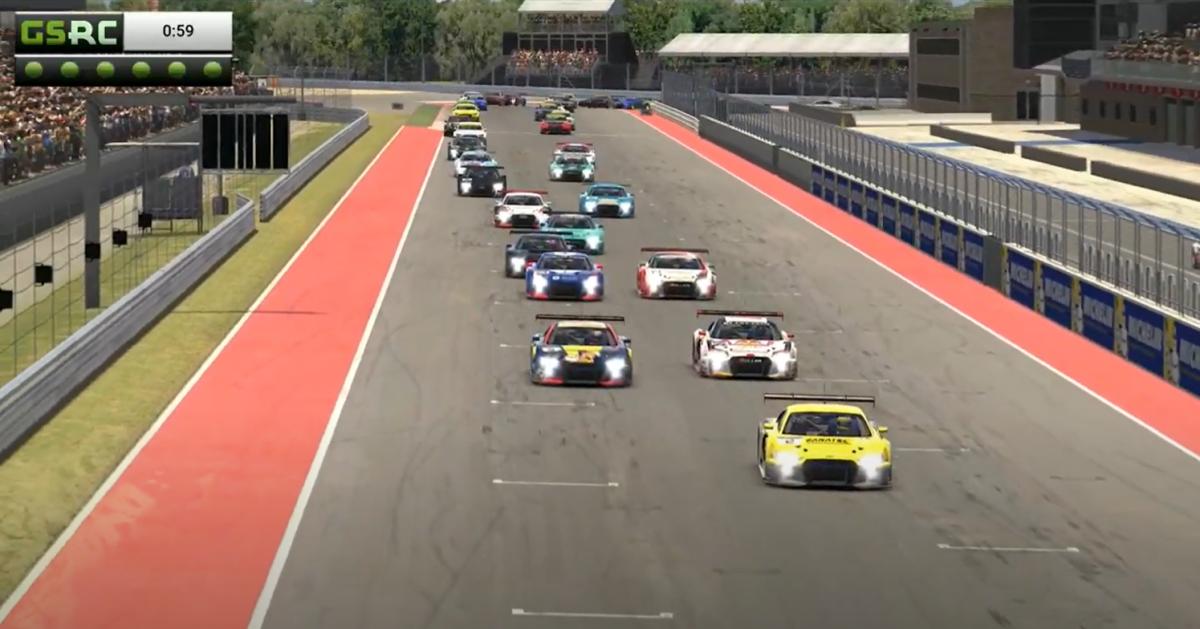 Racing Edge SimRacing Series Round 1: Drama at COTA!