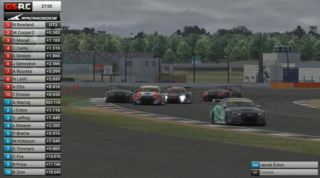 Racing Edge SimRacing Series