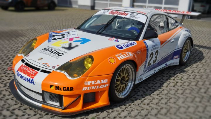 Porsche 996 GT3 RS / RSR Race Car