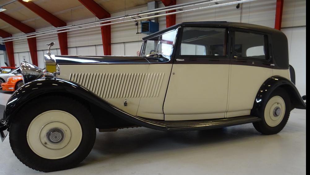 1935 Rolls-Royce 20/25 Barker Sedanca de Ville
