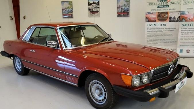 1976 Mercedes-Benz 450 SLC(C107)
